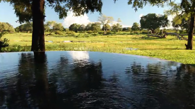 Luangwa Safari House video