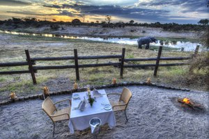 Private dinner at Savute Safari Lodge