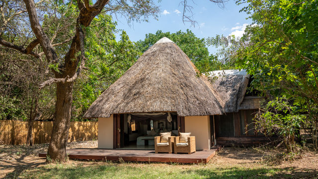 Luangwa River Camp video